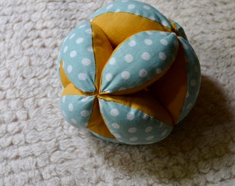 Gripping ball, Montessori pedagogy, from 4 months, birth, development baby gift