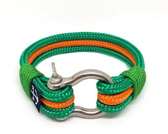 Womens Bracelet , Rope Bracelet ,Sailor Bracelet ,Shackle Bracelet , Surfer Bracelet