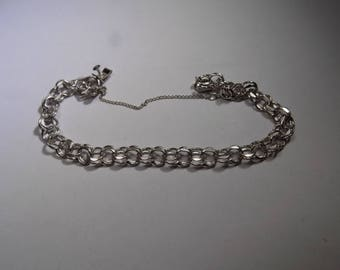 Beautiful sterling silver 7 inch bracelet