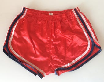 1980s RACER NYLON Made in West Germany Vintage Gym Shorts