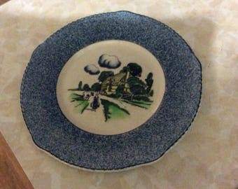 Homestead, 9 inch round luncheon plate.