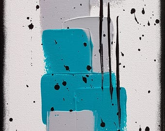 vertical abstract painting contemporary painting