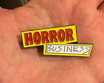 horror business pin