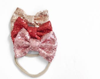 Valentines nylon headbands