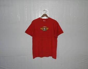 VINTAGE Powell Peralta Skateboard Bones Brigade biglogo 90s style t-shirt