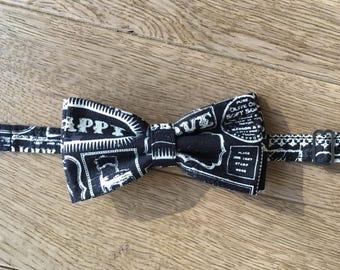Black bow tie - Preppy