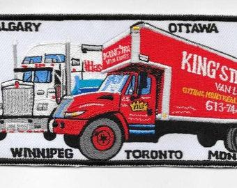 Vintage Trucking & Van Lines Canada King's Transfer Van Lines Inc, Montreal, Quebec