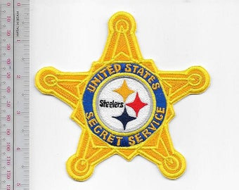 US Secret Service USSS Pennsylvania Pittsburgh Field Office Agent Service Steelers Logo Patch