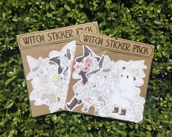 Witch Sticker Pack