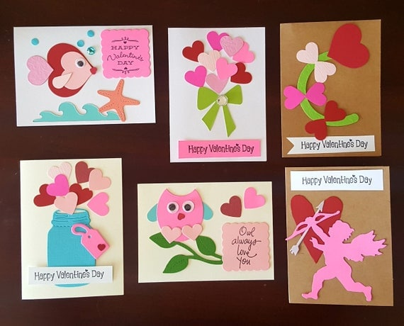 valentine card craft ideas s card kit with embellishments 5638