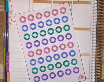 Meal Planning Planner Stickers for use with Erin Condren Life Planner and other planners