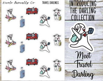 Travel Darlings Planner Stickers