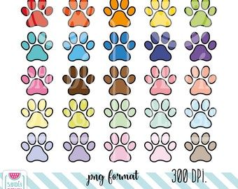 Paw print. Personal and comercial use.