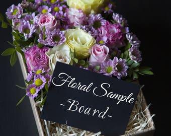 Floral Sample Board -