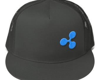 Crypto Cap Ripple 3D Logo XRP