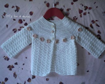 "Jacket ""Rosa rosae"" baby cotton"