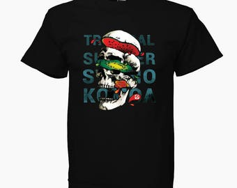 KOMOA Eat fruit BLACK Kids T-SHIRT