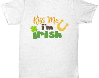 Kiss Me I'm Irish St. Patrick's Day Shirt