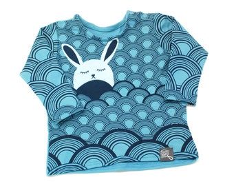 Baby Bunny, baby t-shirt, sweater rayon from bamboo