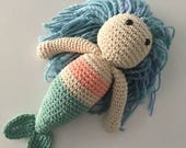 Large Mermaid Toy, Croche...