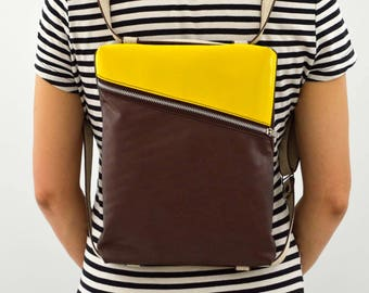 Vintage/backpack/bag//strap//ipad case//BeesBag////design//handmade eco-friendly gift for him and her//cruelty free