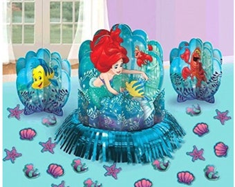 The little mermaid table centerpiece