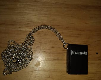 DEATH NOTE Necklace Clock