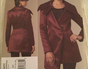 Vogue V1211, Guy Laroche, Vogue Patterns Paris Original, Size DD, 12,14,16,18, New, Uncut, Factory Folded