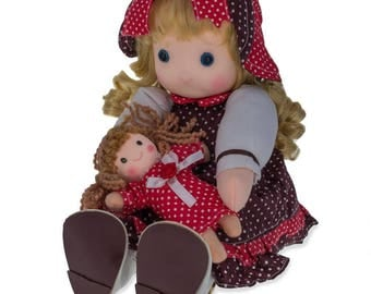 "8.5"" Greta Wind Up Musical Doll"