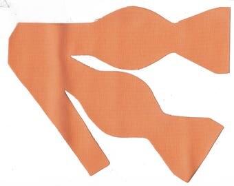 orange bow tie etsy