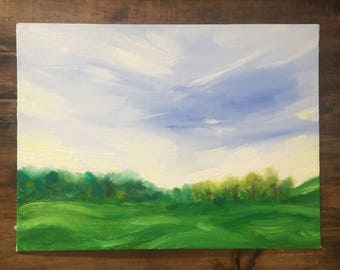 Painting - First Spring