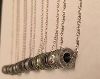 Double Round 9mm Necklace