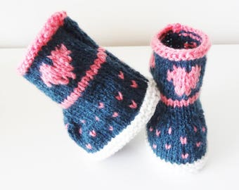 baby boots / baby booties / shoes baby 1-3 months