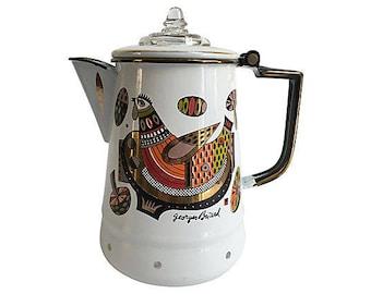 Georges Briard Coffeepot, Georges Briard