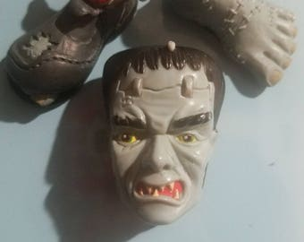 Frankenstein Toy Magnets