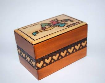 playing card box