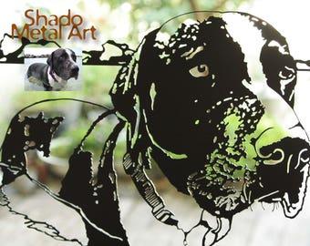 custom pet portrait | custom dog portrait custom pet art | personalized pet portrait custom dog art custom | dog artwork