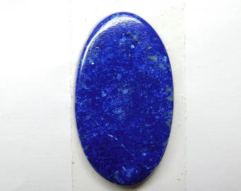 100% Natural Blue Lapis lazuli oval shape cabochone top quality gemstone 32.30cts 34x19x3mm