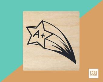 Rising Star - 3cm Rubber Stamp (DODRS0034)
