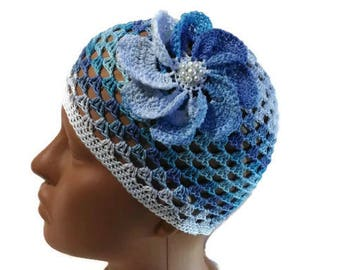 Summer hat crochet, hat for a girl,crochet hat, baby hat, summer hat, beautiful hat, fishnet hat, girls crochet hat
