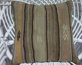 boho throw pillow 16x16 outdoor pillows 16x16 bench cushion 16x16 ethnic kilim 16x16 bohemian throw pillows 16x16 rare kilim 3789