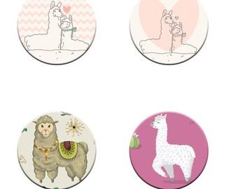 Patternweights Llama/Alpaca select your own design Cute llamas