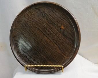 Iron Wood platter