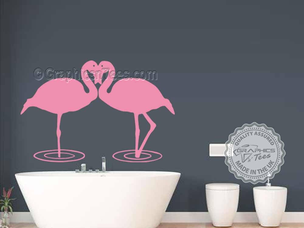 Flamingo Stickers Living Room Dining Room Wall Art Sticker Bar Restaurant  Wall Mural Decor Decals Part 87