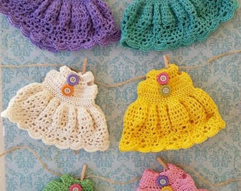 Crochet dresses and hats for Blythe dolls ..