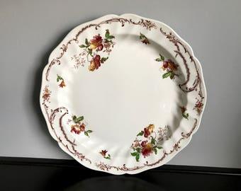 "Vintage Royal Doulton Chiltern 12"" Chop Plate"