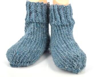 50% wool, hand knitted wool socks for children, wool socks, knitted socks, socks for children, made in Russia