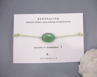 Gluttony Aventurine bracelet