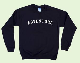ADVENTURE - Crewneck Sweatshirt