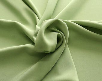 305083-Crepe marocaine Natural Silk 100%, width 130/140 cm, made in Italy, dry cleaning, weight 215 gr